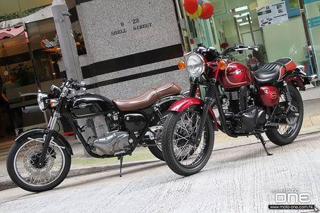 Kawasaki Estrella 'hoi sinh' voi ban 175cc gia 59 trieu dong? - Anh 6