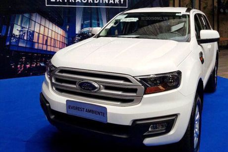 Xe Ford Everest Ambiente MT gia tu 850 trieu tai VN - Anh 3