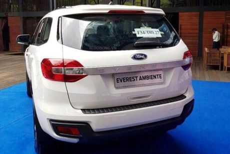 Xe Ford Everest Ambiente MT gia tu 850 trieu tai VN - Anh 4