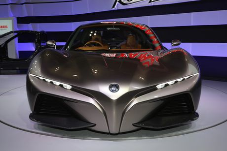 Yamaha gioi thieu Sports Ride Concept, lo tham vong lam oto - Anh 1