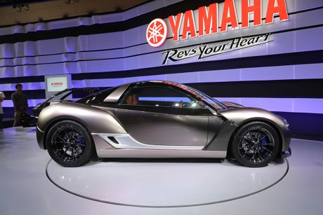 Yamaha gioi thieu Sports Ride Concept, lo tham vong lam oto - Anh 6