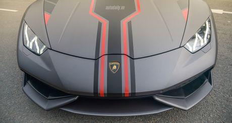 Lamborghini Huracan LP610-4 do cuc chat tai Sai Gon - Anh 9