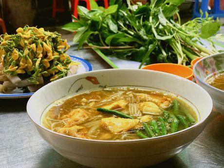 Bun Num Bo Choc - huong vi bun ca den tu Campuchia o cho Ho Thi Ky, TP.HCM - Anh 1