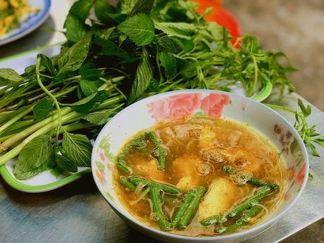 Bun Num Bo Choc - huong vi bun ca den tu Campuchia o cho Ho Thi Ky, TP.HCM - Anh 5