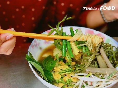 Bun Num Bo Choc - huong vi bun ca den tu Campuchia o cho Ho Thi Ky, TP.HCM - Anh 7